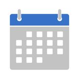 Calendar icon. Simple  icon Stock Photo
