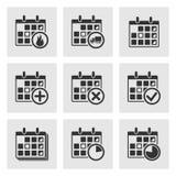 Calendar Icons vector illustration