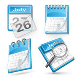 Calendar illustration Stock Image
