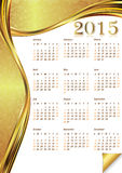 Calendar 2015 -  illustration Stock Photos