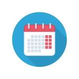 Calendar isolated icon. royalty free illustration