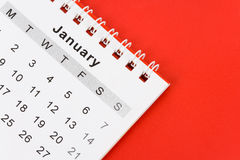 Calendar January Royalty Free Stock Photos