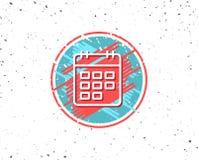 Calendar line icon. Event reminder sign. Stock Photos