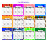 Calendar2015 Royalty Free Stock Images