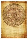 calendar maya Arkivbild
