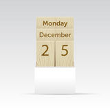 Calendar mock up Royalty Free Stock Photos