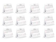 2014 calendar Stock Photos