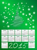2015 calendar. 2015 new calendar vector illustration stock illustration