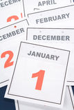 Calendar New Year's Day Royalty Free Stock Image