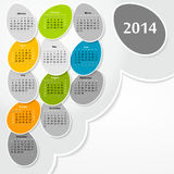2014 calendar Stock Photography