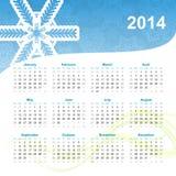 2014 calendar Stock Photo