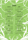 Calendar for the next Year Stock Photography