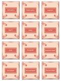 Calendar o ícone Imagens de Stock Royalty Free