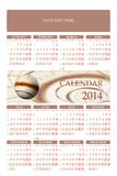 2014 Calendar Royalty Free Stock Photo