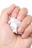 Calendar paper ball Stock Image