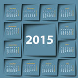 2015 calendar Royalty Free Stock Images
