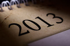2013 calendar Stock Photography