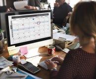 Calendar Planner Organization Management Remind Concept Stock Image