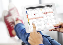 Calendar Planner Organization Management Remind Concept Royalty Free Stock Images