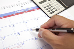Calendar Planning Stock Images