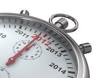 calendar stopwatchåret vektor illustrationer