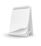 Calendar template with blank pages royalty free illustration