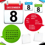 Calendar. Vector Royalty Free Stock Photography