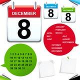 Calendar. Vector Royalty Free Stock Photography