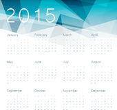 Calendar 2014. Vector. Abstract triangles background with space for symbol and text. Vector Stock Images