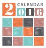 Calendar 2015 Vector design Stock Images