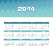 Calendar 2014 Stock Image