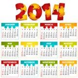 Calendar. Vector illustration of 2014 calendar vector illustration