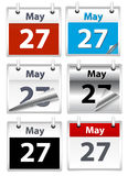 Calendar Vectors Stock Images