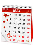 Calendar for Victory Day Royalty Free Stock Images