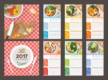 Calendar 2017 Royalty Free Stock Image