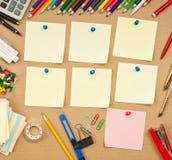 Calendar week. Schedule of classes a week in school royalty free stock photo