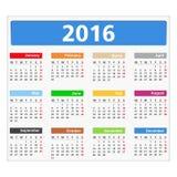 2016 Calendar Stock Photos