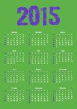 Calendar. Of 2015 year, Planner, organizer Stock Photos
