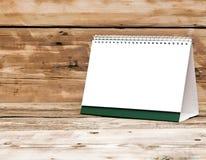 Calendari da scrivania in bianco Immagine Stock Libera da Diritti