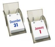 Calendari di scrittorio Fotografia Stock