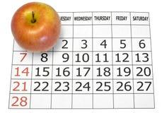 Calendario Foto de archivo libre de regalías