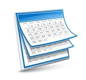 Calendario Immagine Stock