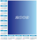 Calendario 2009 Imagen de archivo