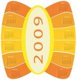 calendario 2009 libre illustration