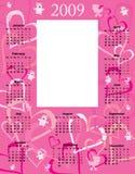 Calendario 2009 del bebé Foto de archivo libre de regalías