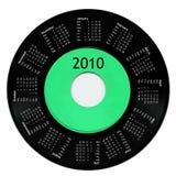 Calendario 2010 Fotografía de archivo