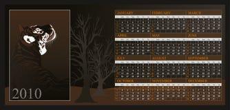 Calendario 2010 Imagenes de archivo
