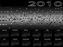 Calendario 2010 Fotografie Stock Libere da Diritti