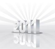calendario 2011 Fotografie Stock
