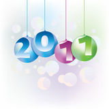 calendario 2011 Fotografia Stock